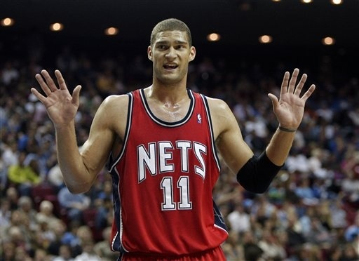size 40 caefb 07607 New Jersey Nets Center Brook Lopez Injured, Out Three Weeks ...
